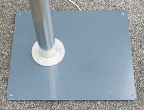 Bodenplatte für Ladestation TOWER