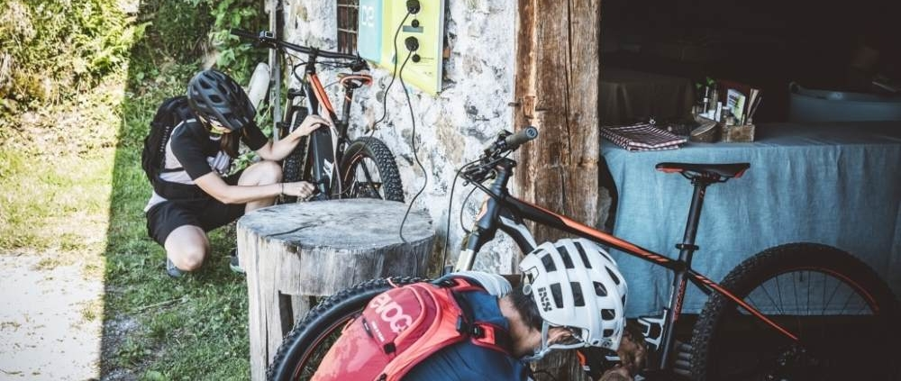 ebike ladestationen in Saalfelden-leogang